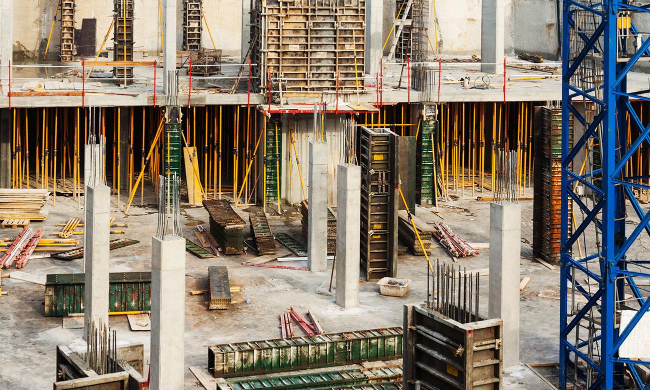 construcción de nuevas viviendas y edificios